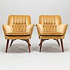 A mid-20th century armchairs.