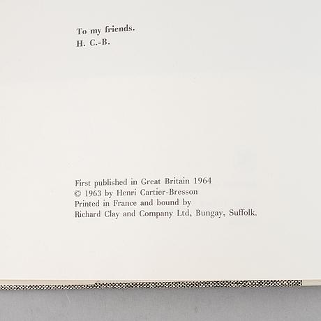 """Fotobok, """"photographs"""", av henri cartier-bresson."""