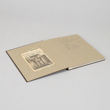 "Bok, ""poste restante"", christer strömholm, pa norstedt & söners förlag stockholm 1967, signerad christer strömholm."