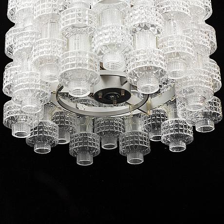 "Gert nystrÖm, a ceiling light ""festival"", glass and metal ,fagerhults belysning."