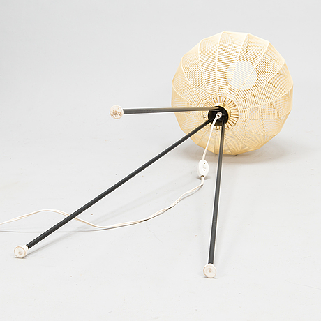 A 1950's floor lamp.