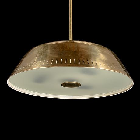 Harald notini, a mid-20th century pendant light for böhlmarks lampvarufabrik.
