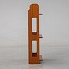 Josef frank, a model 2085 mahogany shelf, svenskt tenn, sweden, post 1985.
