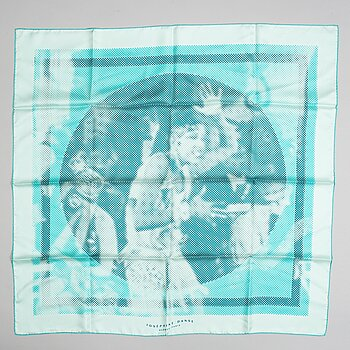 Hermès, a silk 'Joséphine Danse'  scarf.