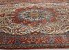 A carpet, a semi-antique qum, ca 380,5-387,5 x 250,5-259,5 cm.