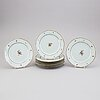 A set of 10 famille rose dishes, qing dynasty, qianlong (1736-95).