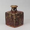 A stoneware vase by erik pløen, own workshop, probably 1960s, signed.