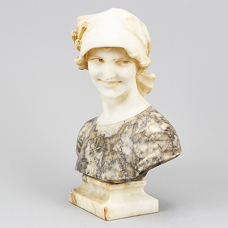 A 20th century marble sculpture.