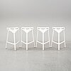 Konstantin grcic, a set of 4 barstools, italy.