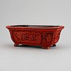 An octagonal flower pot, china, presumably early 20th centruy.