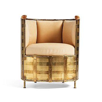"39. Mats Theselius, an ""El Dorado"" easy chair, ed. 61/360, Källemo Sweden post 2002."