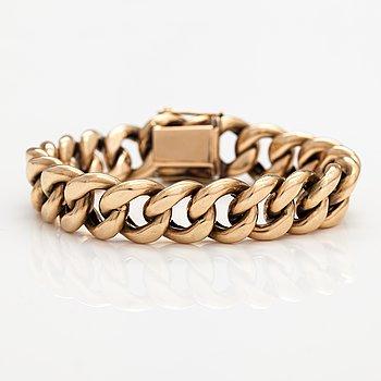 A 14K gold bracelet. Ky Kari Rosti, Helsinki 1991.