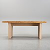 Axel wannberg, a walnut veneer and birch dining table.