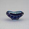 """Sven palmqvist, a """"ravenna"""" glass bowl, orrefors, sweden 1963."""