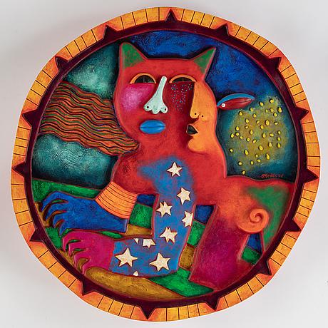 Clemens briels, sculpture, 2006, multiple, signed 28/45.
