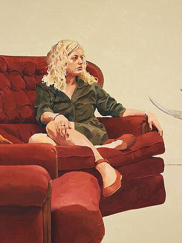 Markus åkesson, oil on canvas, signed verso.