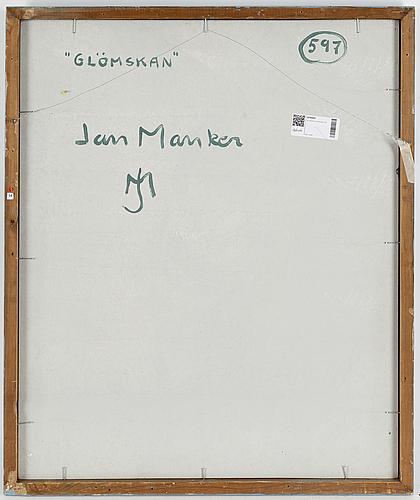 Jan manker, oil on panel, signed.