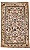 A carpet, old qum, probably,  ca 357,5 x 218-226,5 cm.