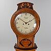 A 19th century long case clock by mandelgren carlshamn.
