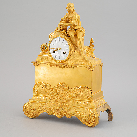 Table clock, second half of the 19th century.