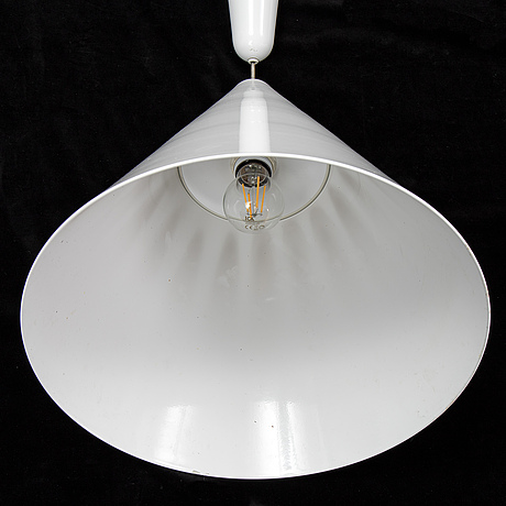 A pair of 21st century 'diabolo' ceiling lights by achille castiglioni for flos, italy,