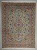 A carpet, keshan, ca 416 x 310 cm.