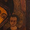 A russian icon, latter half of 19th century.