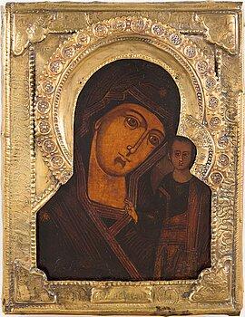 A Russian icon, latter half of 19th century.