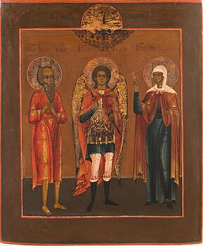 A late 19th century Russian icon.