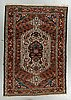A rug, semi-antique chahar mahal and bakhtiari, ca 206 x 143 cm.