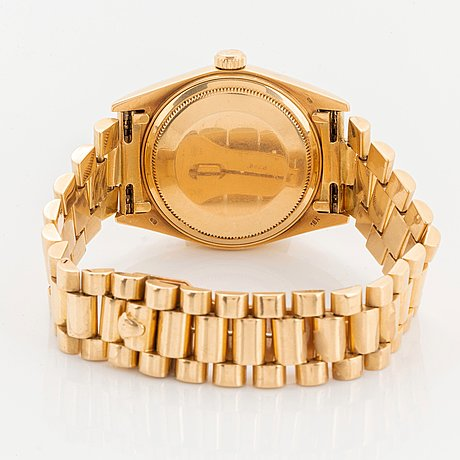 "Rolex, day-date, ""diamond dial""."