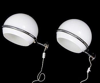 Ruud Ekstrand & Christer Norman, a pair of Bergboms wall lights.