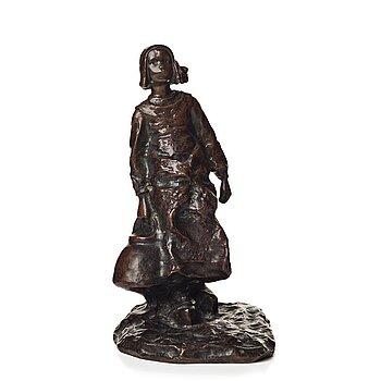 Ruth Milles, sculpture. Signed. Bronze. Height 29 cm.