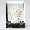 Buddha-patsas, posliinia, itämainen.
