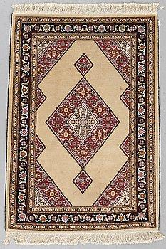 A rug old oriental, ca 140 x 96 cm.