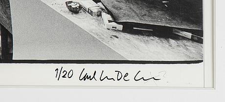 Carl johan de geer, fotografi, signerat 1/20.