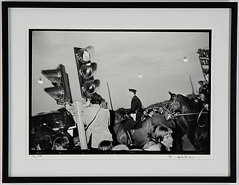 Carl Johan De Geer, photo, signed 1/3.