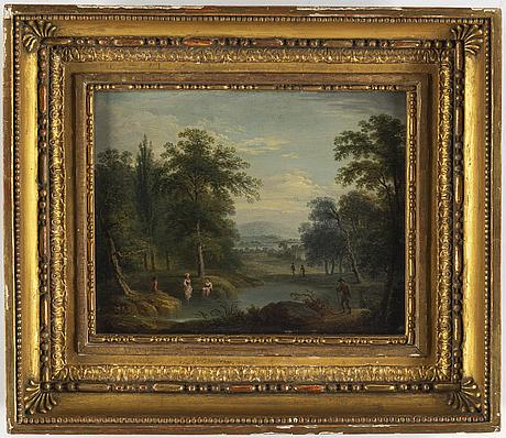 Unknown artist, 18th century, oil on panel.