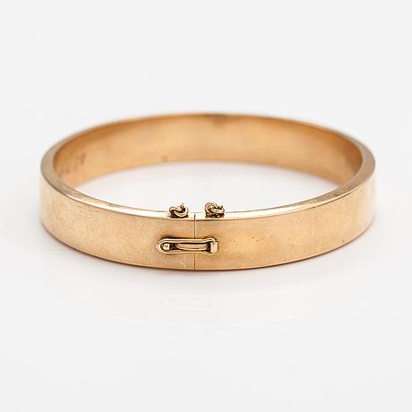 A 14k gold bracelet. kultateollisuus, turku 1950.