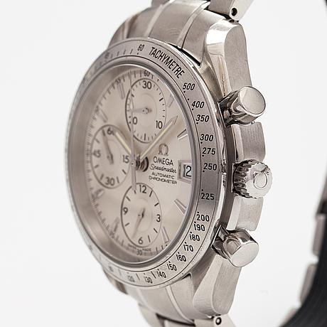 Omega, speedmaster, 100m, wristwatch, 40 mm.