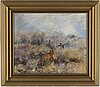 Mosse stoopendaal, oil on canvas, signed and dated 1940.