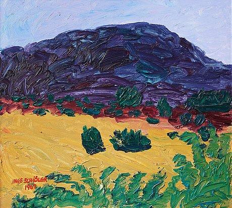 "Inge schiöler, ""mörkt berg""."