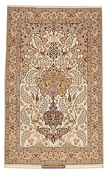 "244. Matta, Old Isfahan, ""Saraf"", ca 170 x 104 cm."