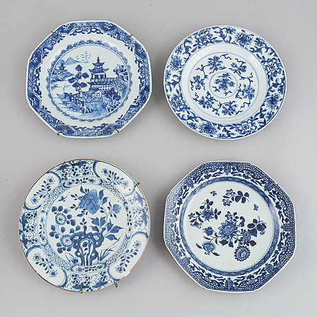 A group of export porcelain, qing dynasty, 18/19th century.