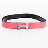 Hermès, a 'constance' leather belt.