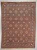 A carpet, knotted pile, ca 374-377 x 275-278 cm, possibly  konstfliten, sweden/finland, around 1920-1930.