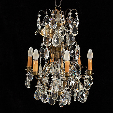 A mid 20th century baroque style ceiling light.
