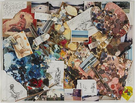 Simon andrews, mixed media/collage.