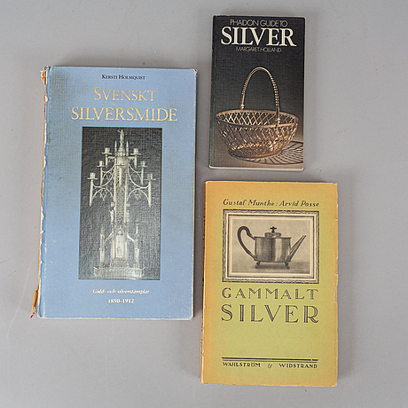 13 books about silver, most in swedish.