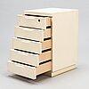 Alvar aalto, a late 20th century '297' drawer unit for artek.